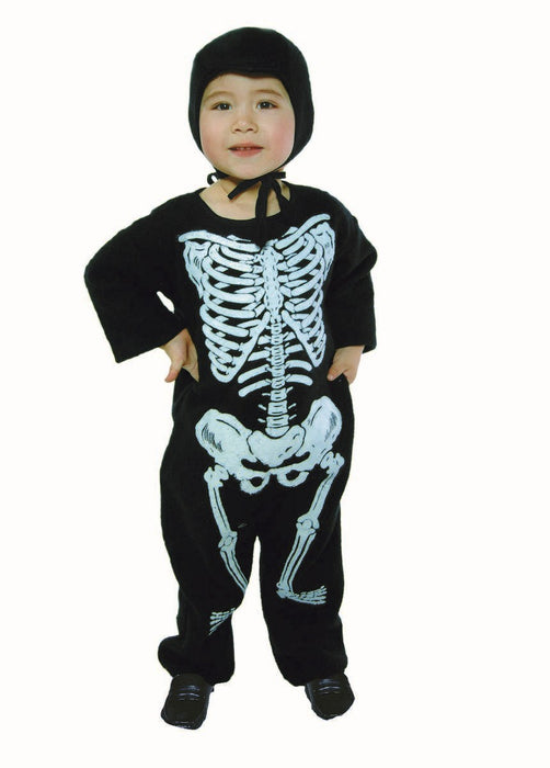 70010 Skeleton Costume Jumpsuit