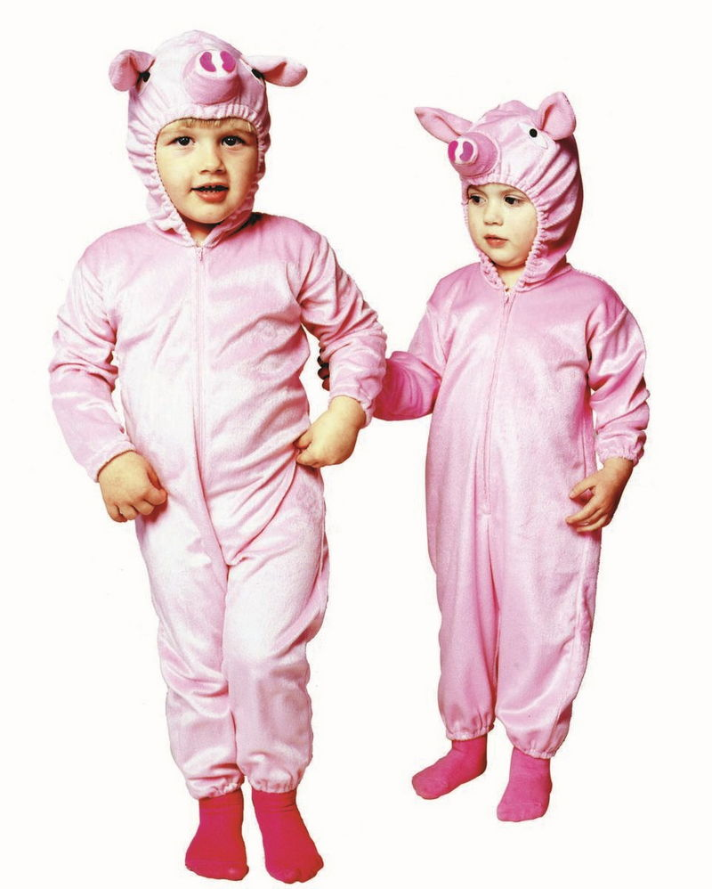 70086 Pink Piggie Costume Infant & Toddler