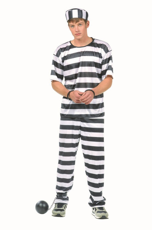 77008 Convict Costume Teen