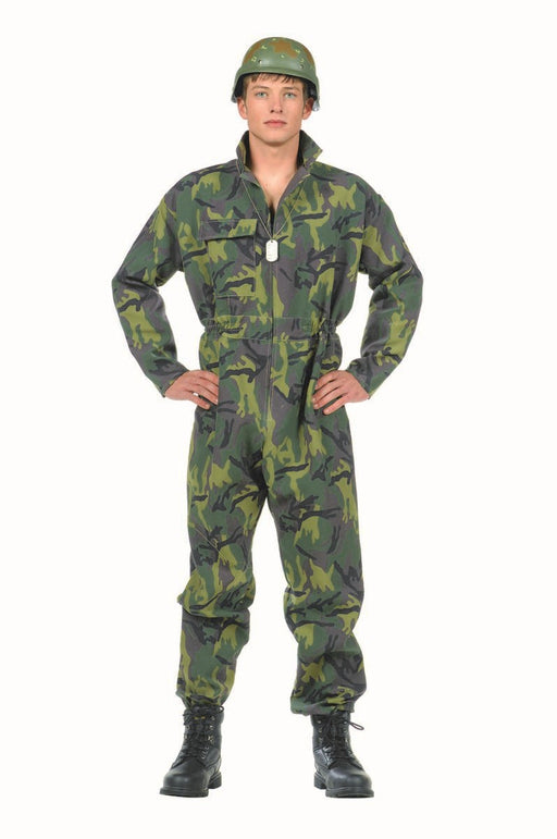 77063 Army Commando Costume Teen