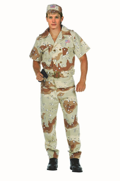 77567 Desert Hero Army Soldier Costume Teen