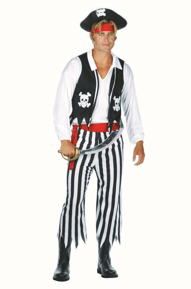 80009 Pirate Man Swashbuckler Costume