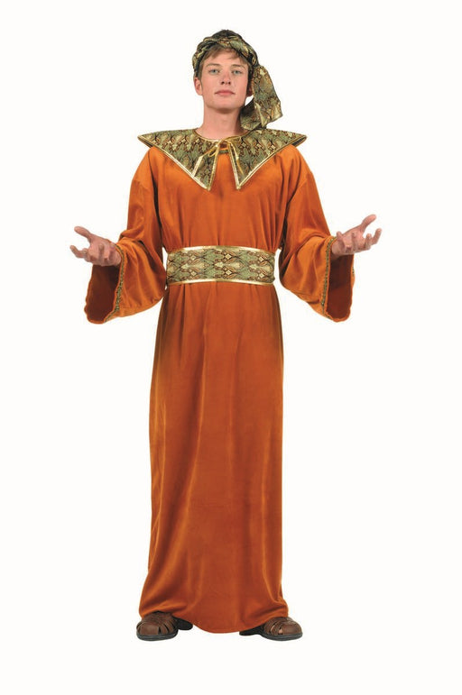 80282 Wiseman Costume - Rust Brown