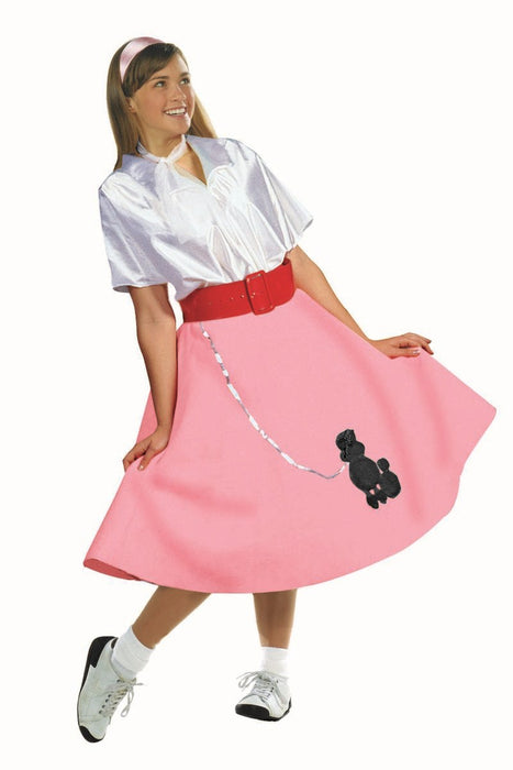 Poodle Skirt w/ Blouse 50s Dress