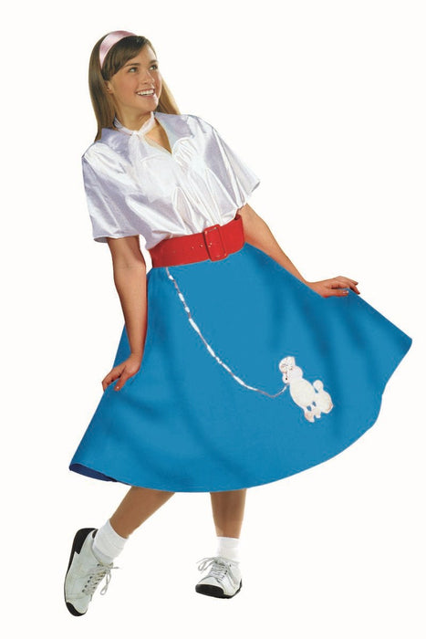 81138 Poodle Skirt w/ Blouse 50s Dress