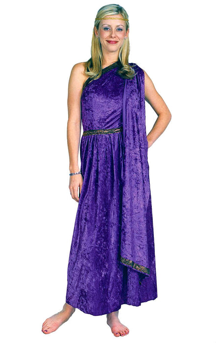 81269 Female Toga Costume Long Dress