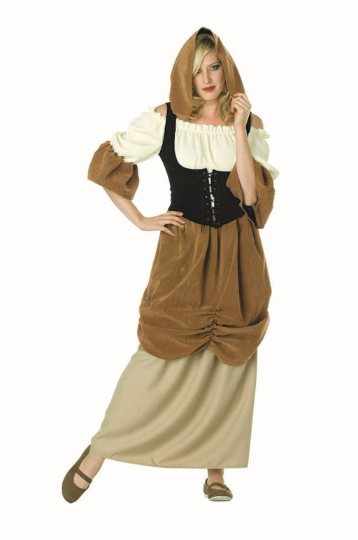 81331 Hooded Colonial Peasant Lady