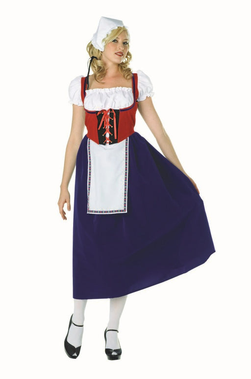 81379 Milk Maiden Swiss Miss Costume