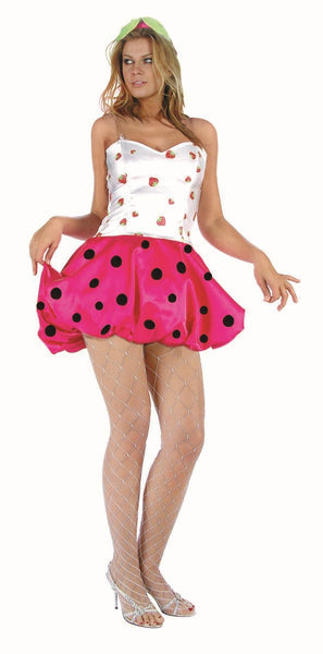 81425 Strawberry Puff Costume