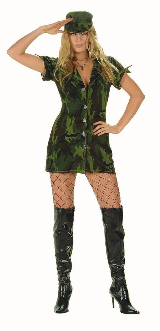 81462 Sexy Army Soldier Costume