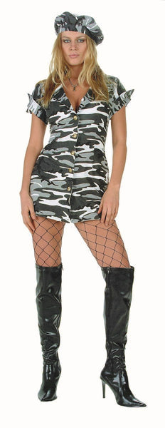 81463 Special Mission Army Girl Costume