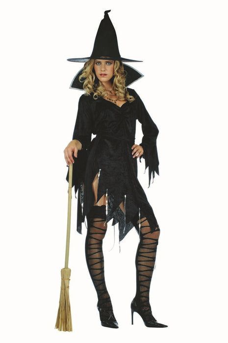 81511 Sexy Velvet Witch with Hat