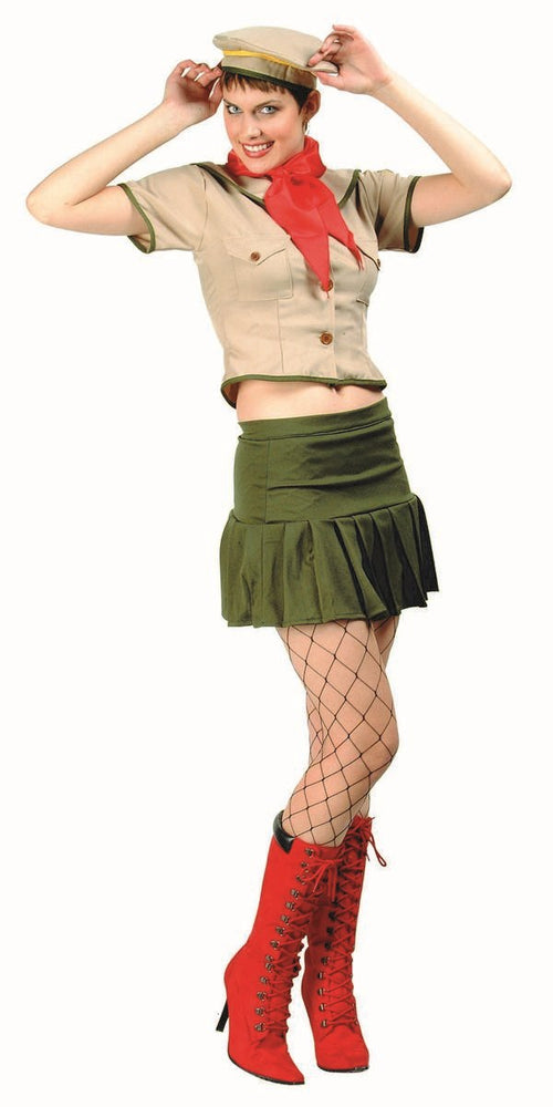 81514 Sexy Girl Scout Costume