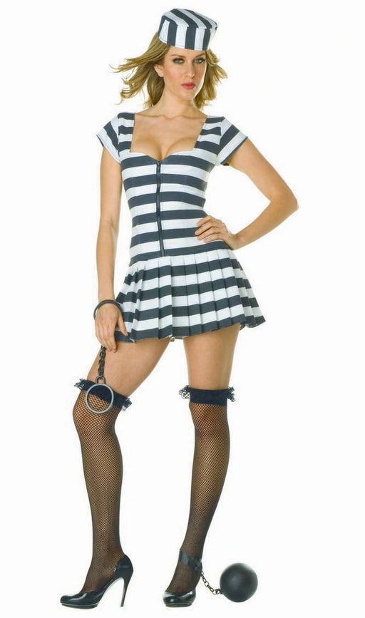 81608 Prisoner of Love Sexy Inmate Costume