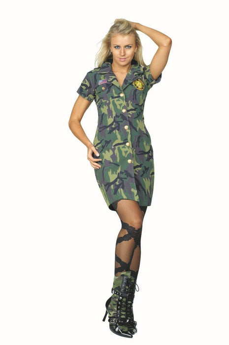 81632 Demolition Dolly Army Costume