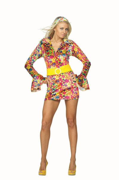81656 Psychedelic Disco Hippie Chick