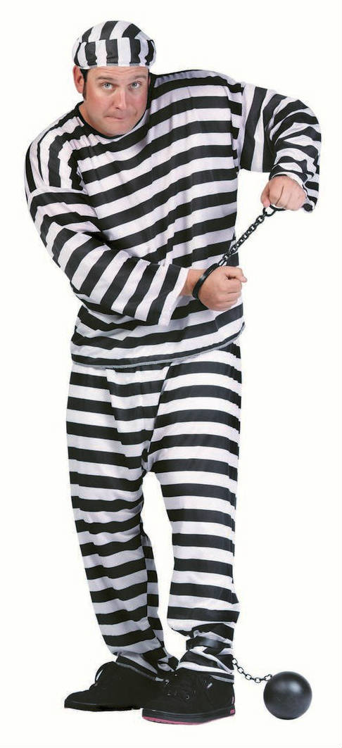 85008 XL Convict Costume