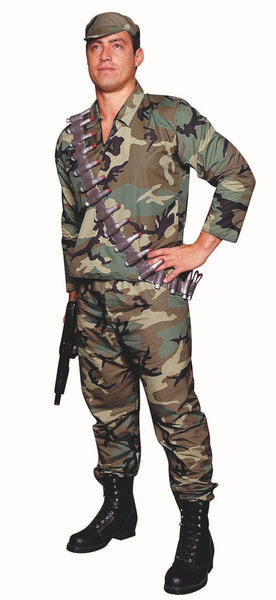 85154 XL Camouflage Commando Costume
