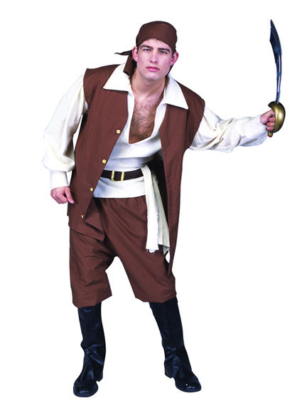 85271 Caribbean Pirate Costume XL