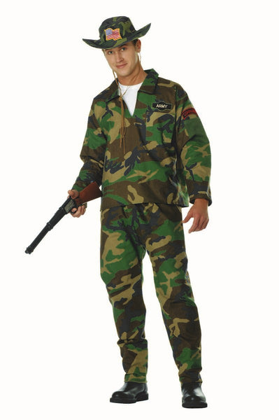 85354 Jungle Commando Camo Costume XL