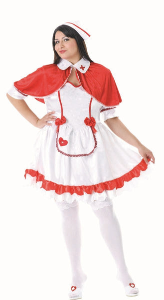 86139 Caped Nurse Costume Plus