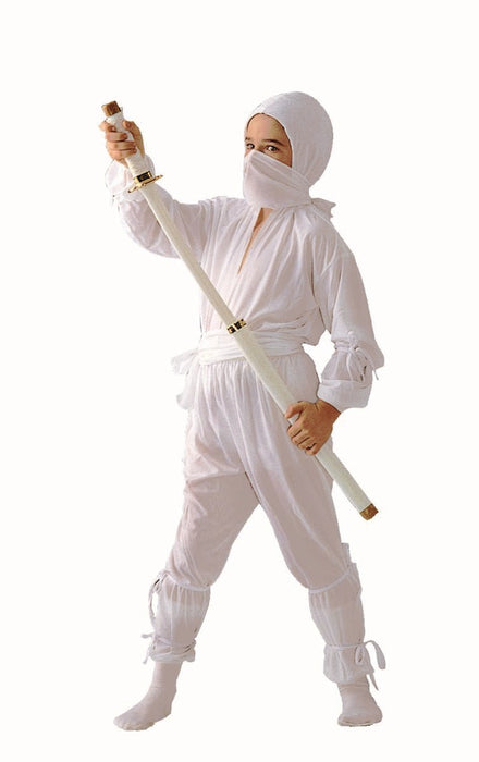 90041 Ninja White Costume Boys