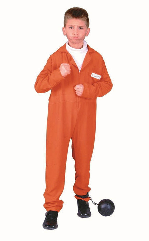90108 Escaped Convict Costume Child