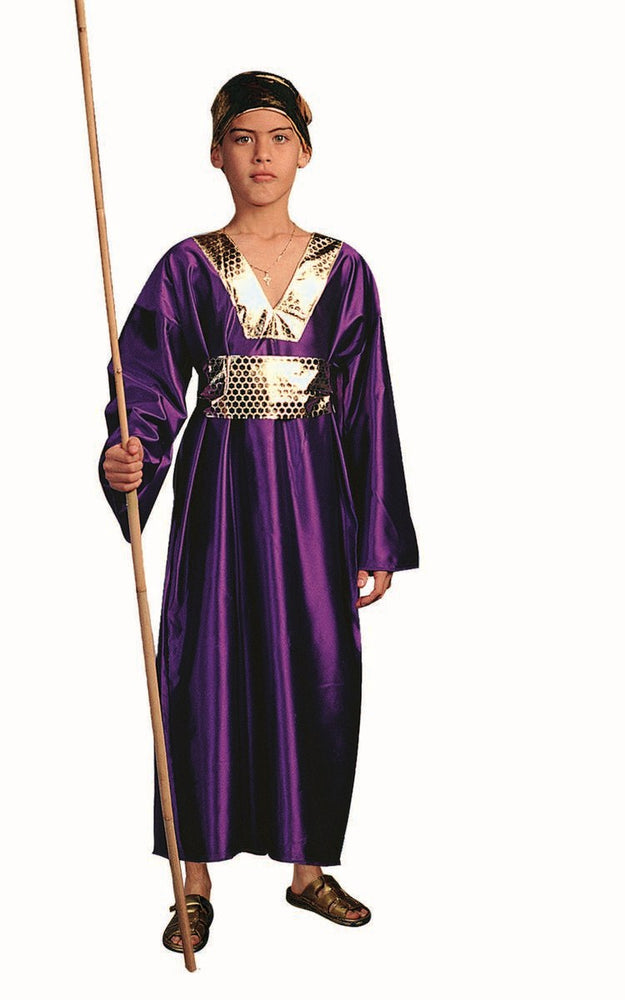 90181 Wiseman Costume Purple Child
