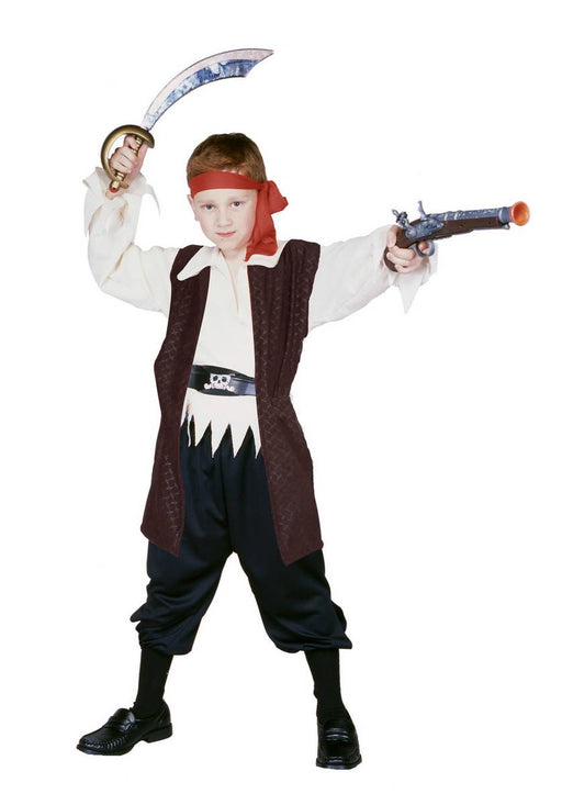 90271 Caribbean Pirate Costume Child