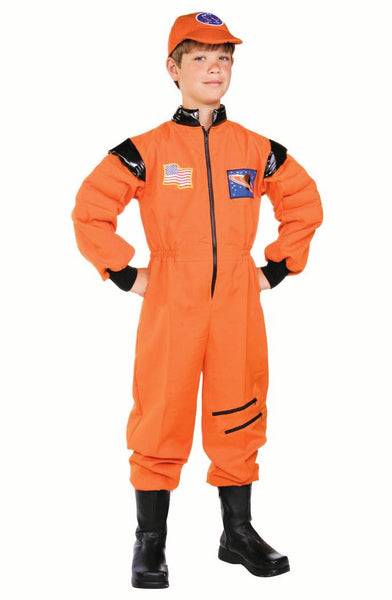 90351 Astronaut Costume Orange Child