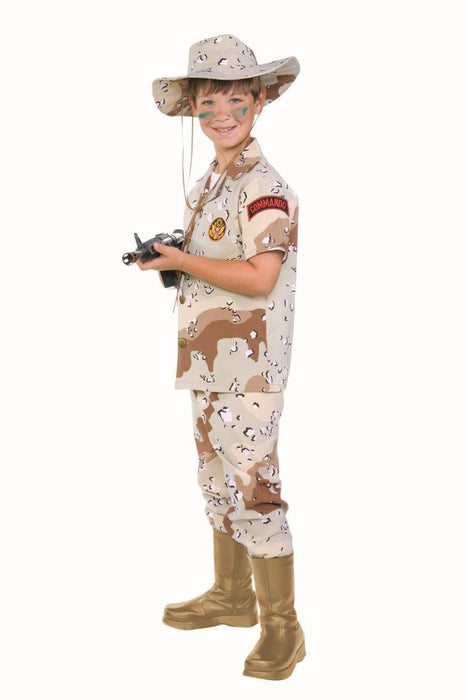 90362 Desert Storm Commando Costume Child