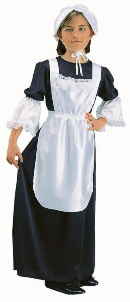 91067 Pilgrim Girl Costume Girls