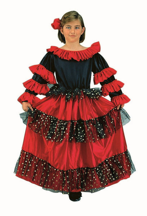 91071 Spanish Beauty Costume Child
