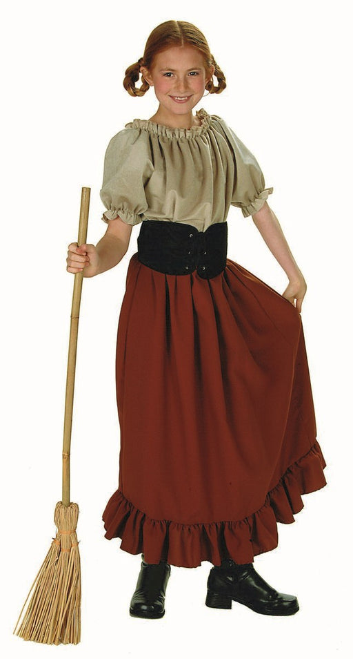 91120 Renaissance Peasant Girl Child