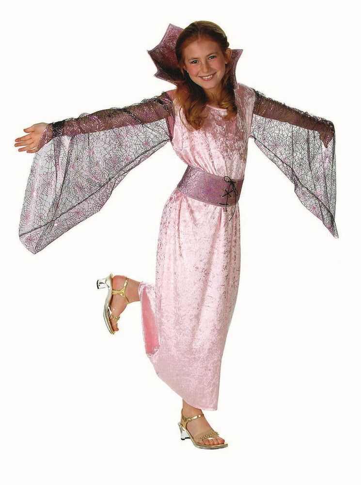 91310 Victorian Pink Spider Girl's Costume