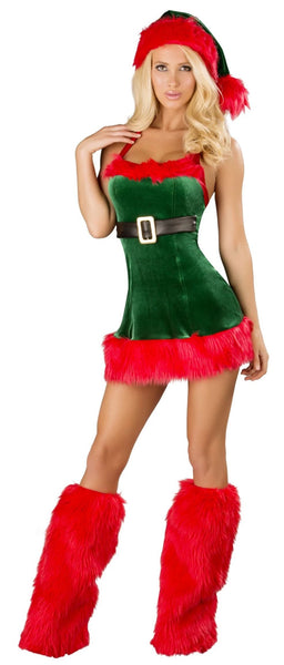 Santa's Envy Elf Costume