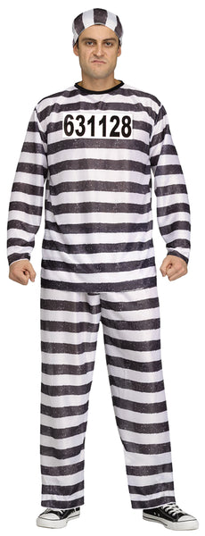Convict Costume XL