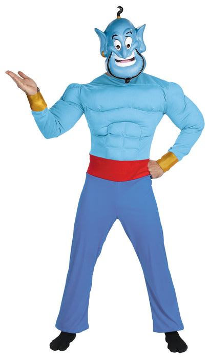 Genie Muscle Chest Costume