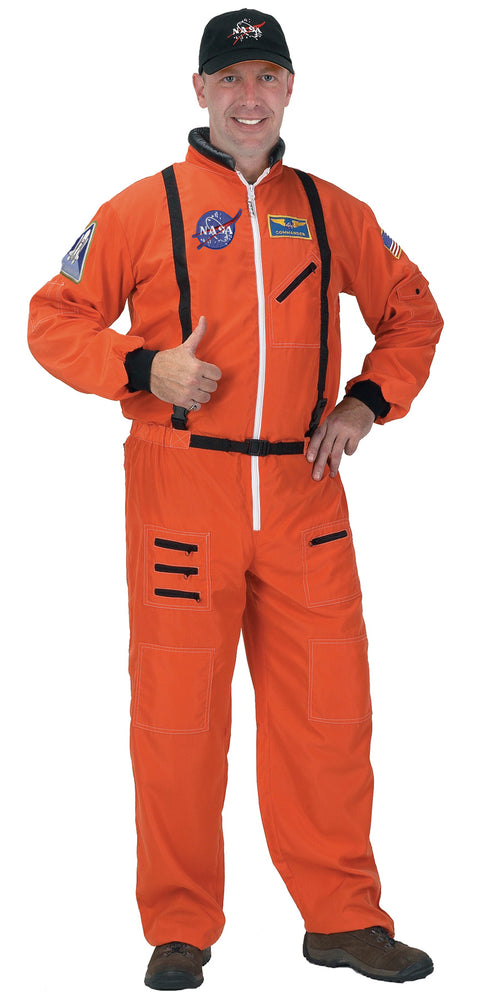 Astronaut Suit Costume Orange