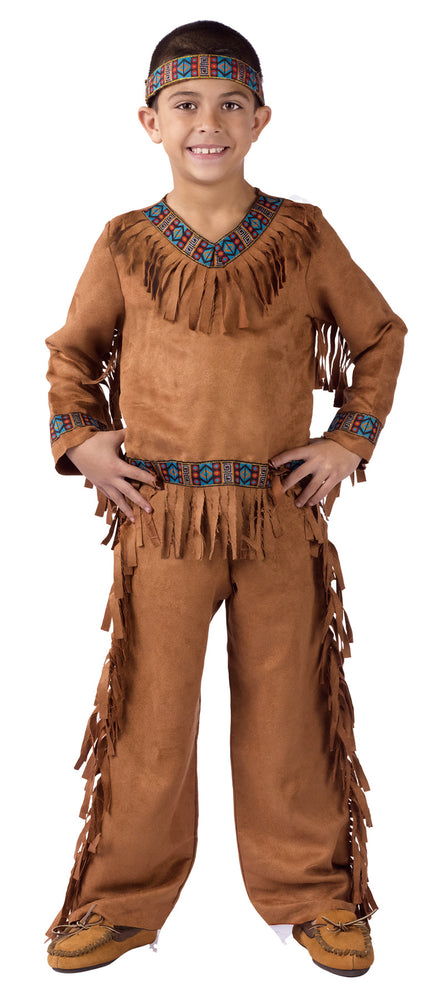 American Indian Boy Costume