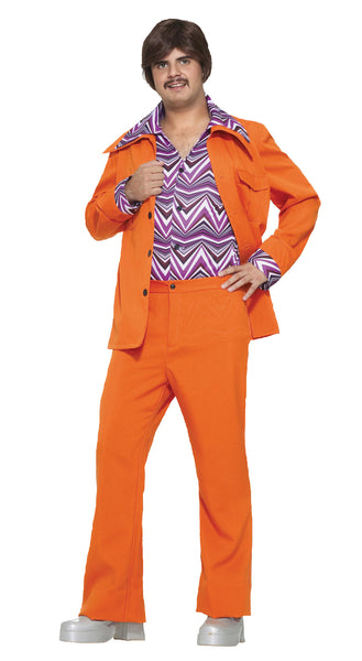 Leisure Suit 70's Orange