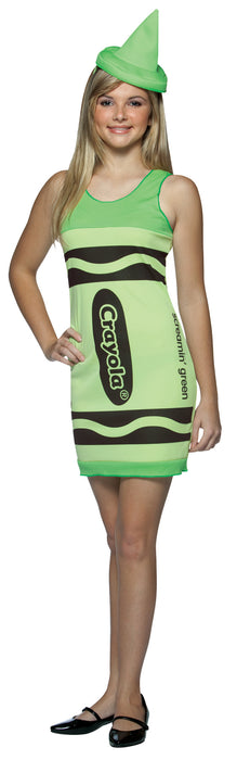 Crayola Tank Green Teen
