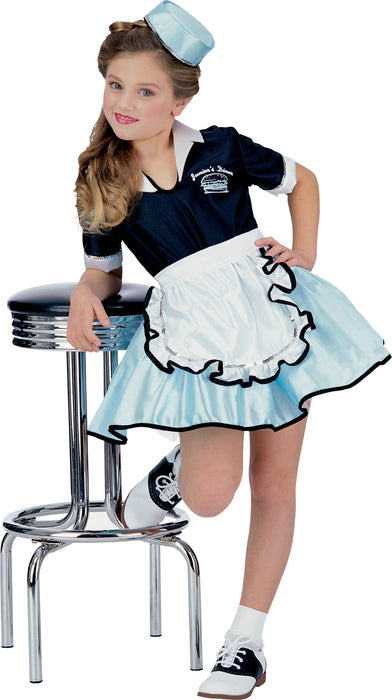 Car Hop Girl Child Costume