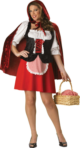 Red Riding Hood Costume Plus