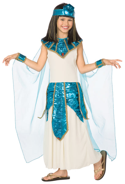 Cleopatra Blue Gold Costume
