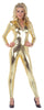 Stretch Jumpsuit Gold