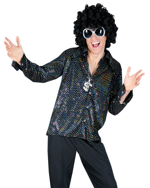 Boogie Night Shirt Costume Mediu