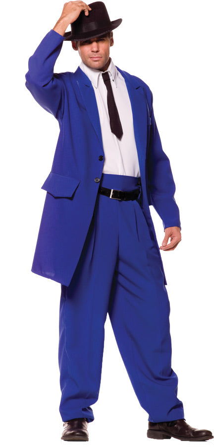 Zoot Suit Costume Blue