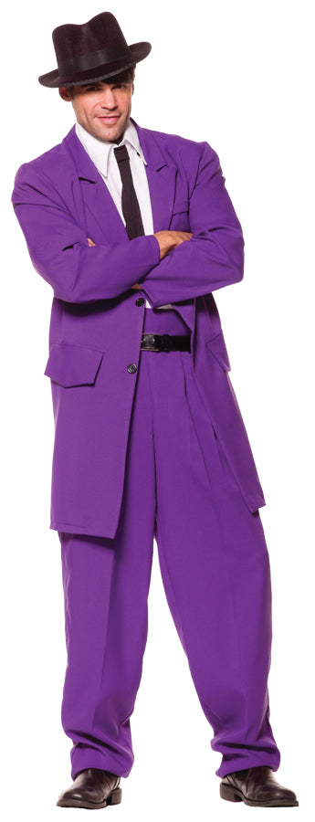 Zoot Suit Costume Purple
