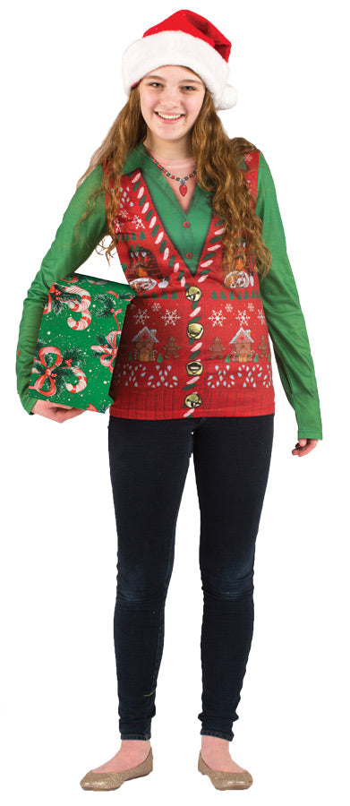 Ladies Ugly Christmas Vest